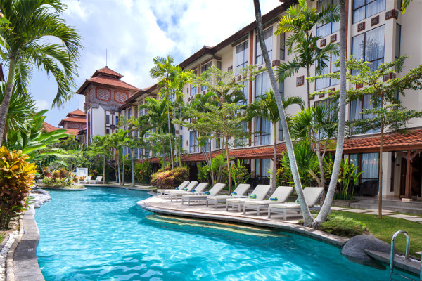 Piscine - Combiné hôtels - Balnéaire au Prime Plaza Hotel Sanur + The Ubud Village Hotel 4*