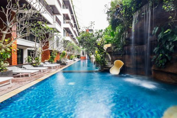 Piscine - - Jambuluwuk Oceano Seminyak + The Ubud Village Hotel 4* Denpasar Bali