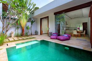 Vacances Legian: Hôtel Balnéaire au Anema Villa Seminyak + Abirama Ubud Villa