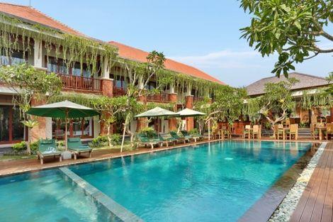 Bali-Combiné hôtels Balnéaire au Prama Sanur 4* sup + D'Bulakan Boutique à Ubud 4*