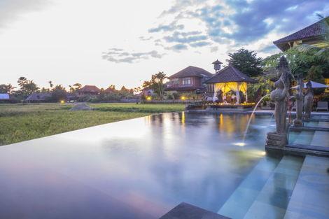 Bali-Combiné hôtels - Balnéaire à Kuta à l'hôtel Fontana 4* + Cendana Ubud Resort & Spa 3*