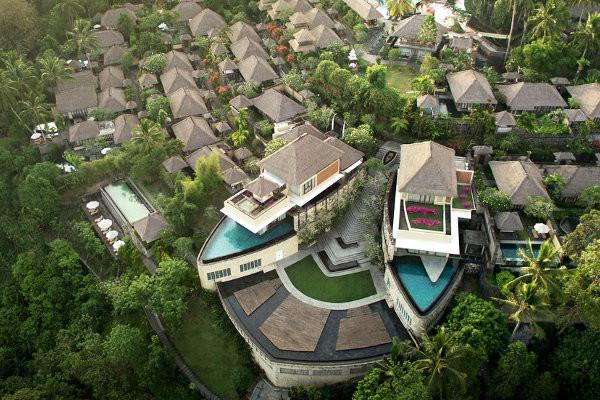 Vue panoramique - Combiné hôtels - Balnéaire au Prama Sanur Beach 4* sup + Kamandalu Ubud 5* Denpasar Bali