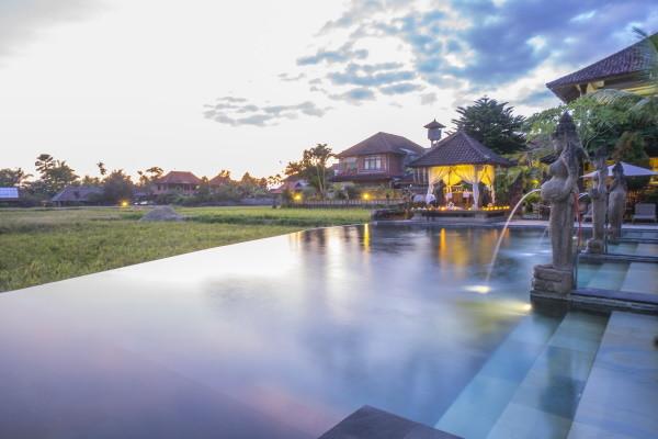 Vue panoramique - Combiné hôtels Balnéaire à Kuta à l'hôtel Fontana 4* + Cendana Ubud Resort & Spa 3*