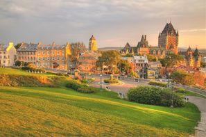Vacances Montreal: Combiné circuit et hôtel Authentique de l'est + extension New York