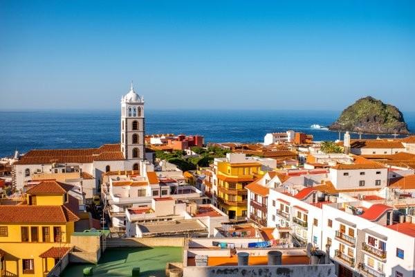 Vue panoramique - Combiné circuit et hôtel Tour Canario et séjour Framissima Allegro Isora 4* Tenerife Canaries
