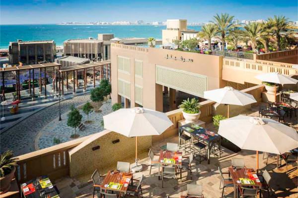 Vue panoramique - Combiné hôtels 2 Iles : Dubaï + Maldives Sofitel Dubaï Jumeirah Beach 5* + Sun Island Resort & Spa 5* Dubai Dubai et les Emirats