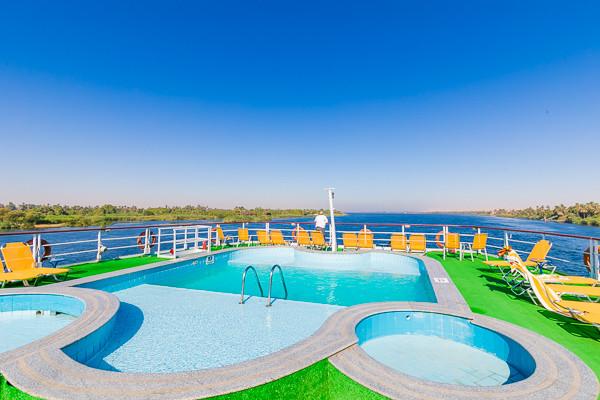 Piscine - Combiné croisière et hôtel Au fil du Nil et Framissima Continental Hurghada (14 nuits) 5* Louxor Egypte