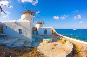 Vacances Athenes: Circuit Périples dans les Cyclades depuis Athènes - Mykonos, Paros et Santorin