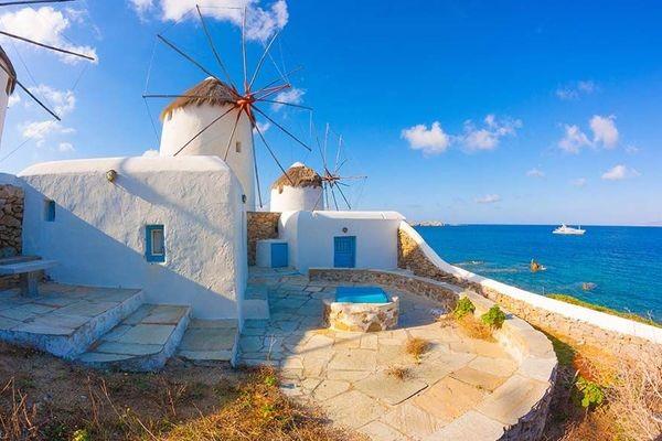 (fictif) - Circuit Périples dans les Cyclades depuis Athènes - Mykonos, Paros et Santorin 3* Athenes Grece