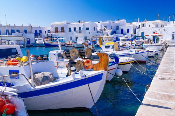 Paros - Combiné 2 îles Paros - Santorin en 8 jours
