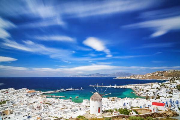 Ville - Circuit Combiné 2 îles : Paros - Santorin en 8 jours 3* Athenes Grece