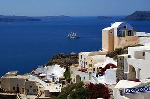 Grece-Athenes, Combiné hôtels Combiné d'îles Paros - Santorin en 8 jours