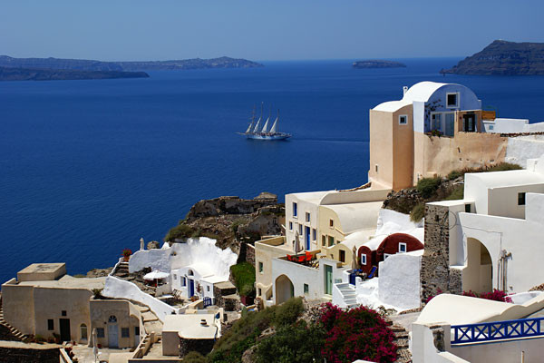h tel combin d 39 les paros santorin en 8 jours athenes grece partir pas cher. Black Bedroom Furniture Sets. Home Design Ideas