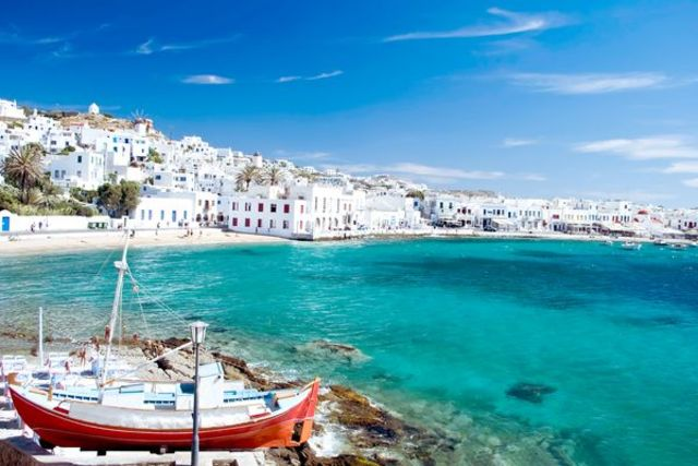 Fram Grece : hotel Circuit Combiné 3 îles : Mykonos - Paros - Santorin en 15 jours - Mykonos