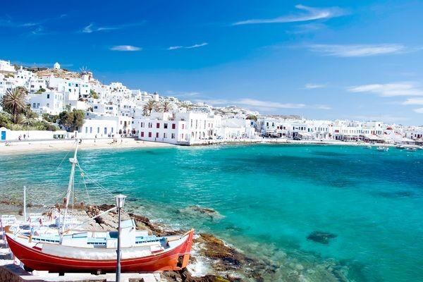 Ville - Circuit Combiné 3 îles : Mykonos - Paros - Santorin en 15 jours 2* Mykonos Grece