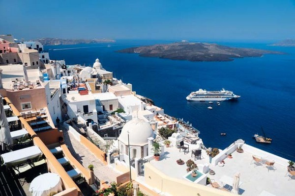 (fictif) - Circuit Combiné dans les Cyclades : Santorin, Naxos et Amorgos en 2 semaines 3* Santorin Grece