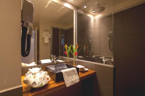 Chambre - Combiné hôtels 3 îles - Guadeloupe + Sainte Lucie + Martinique : Karibéa Le Salako 3* + Ti Kaye Resort & Spa 4* + Karibéa Amyris 3* Pointe A Pitre Guadeloupe