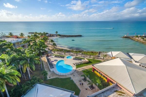Plage - Combiné hôtels 3 îles - Guadeloupe + Sainte Lucie + Martinique : Karibéa Le Clipper 3*, Ti Kaye Resort & Spa 4*, Karibéa Amandiers 3* Pointe A Pitre Guadeloupe