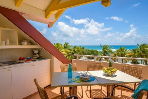 Terrasse - Combiné hôtels Pierre et Vacances : Guadeloupe et Martinique (appartement 2 personnes) 3* Pointe A Pitre Guadeloupe