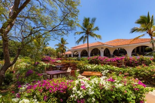Terrasse - Hôtel Combiné Séjour Diani Sea Resort 4* / Safari Express Kenya 4* Mombasa Kenya