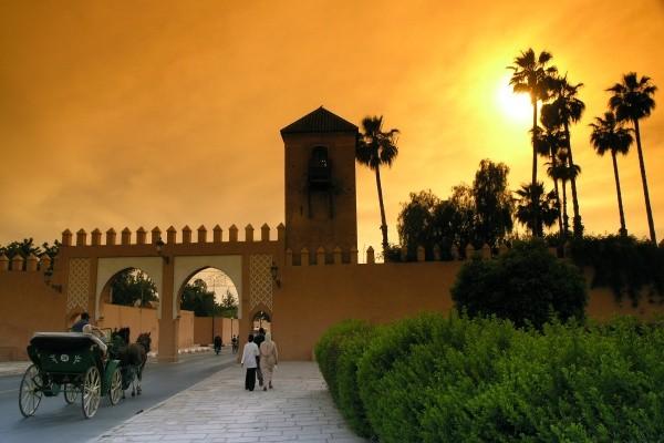 Ville - Combiné hôtels De Marrakech à Ouarzazate: ville rouge et cœur du désert 4* Marrakech Maroc