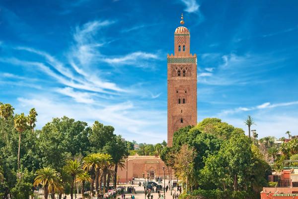 Ville - Combiné circuit et hôtel FRAM Les Villes Impériales et Riu Tikida Dunas 4* Marrakech Maroc