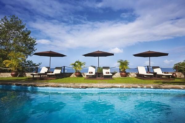 Piscine - Combiné hôtels 2 îles - Martinique et Sainte Lucie : Karibéa Amandiers 3* + Ti Kaye Resort & Spa 4* Fort De France Martinique