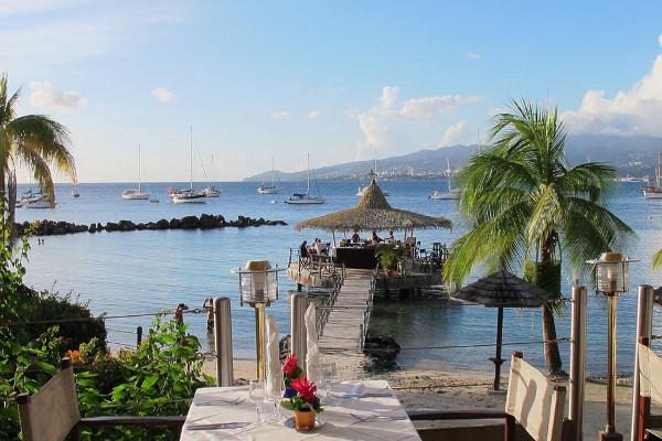 Plage - Combiné hôtels 2 îles - Martinique et Guadeloupe : Bakoua et Auberge De La Vieille Tour 4* Fort De France Martinique