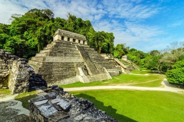 La cité maya de Palenque
