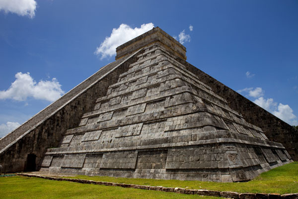 Pyramide a Chichen Itza
