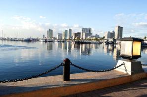 Philippines-Manille, Combiné hôtels De Manille aux sables de Puerto Galera