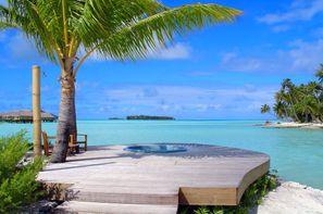 Polynesie Francaise-Papeete, Combiné hôtels 4 îles : Tahiti – Huahine– Bora Bora – Moorea sup