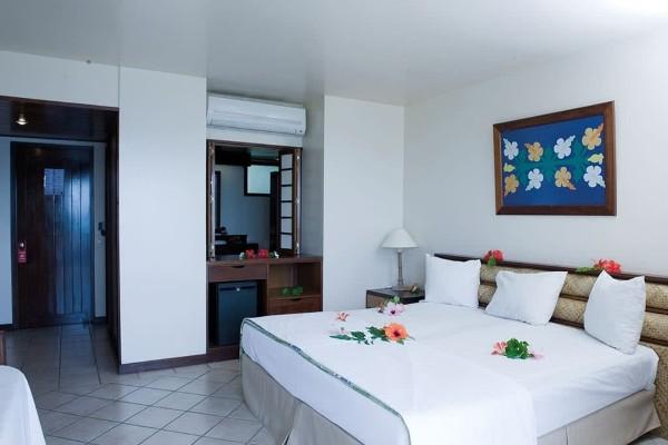 Chambre - Combiné hôtels 3 Îles Maitai : Tahiti, Moorea, Bora Bora, Tahiti Papeete Polynesie Francaise