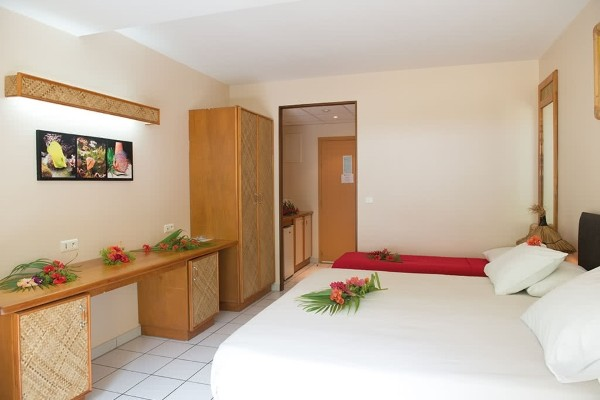Chambre - Combiné hôtels 4 Îles Royal : Tahiti + Moorea + Huahine + Bora Bora Papeete Polynesie Francaise