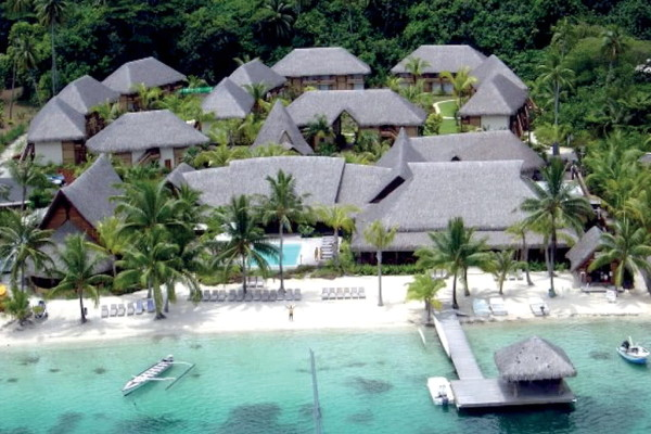 Facade - Combiné hôtels 4 Îles Royal : Tahiti + Moorea + Bora Bora + Rangiroa Papeete Polynesie Francaise