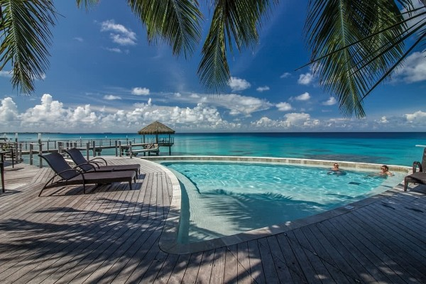 Piscine - Combiné hôtels 4 Îles Royal : Tahiti + Moorea + Bora Bora + Rangiroa Papeete Polynesie Francaise