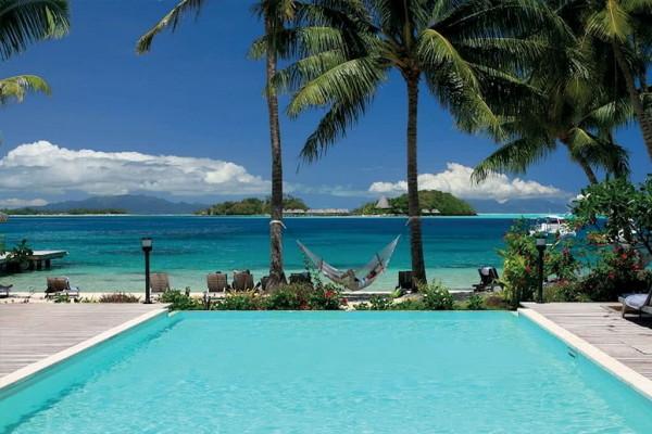 Royal Bora Bora piscine - 4 Îles Royal : Tahiti + Moorea + Bora Bora + Rangiroa