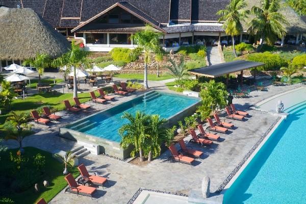Piscine - Combiné hôtels Trois îles Intercontinental / Maitai: Tahiti, Mooréa et Bora Bora Papeete Polynesie Francaise