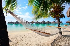 Polynesie Francaise-Papeete, Combiné hôtels Deux îles Tahiti et Moorea en Pensions de Famille