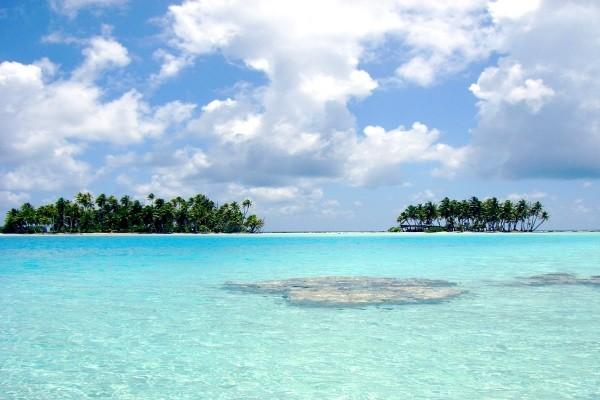Plage - Combiné hôtels Deux îles Tahiti et Moorea en Pensions de Famille Papeete Polynesie Francaise