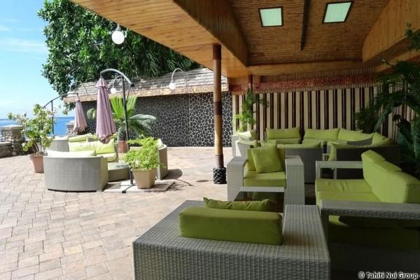 Terrasse - Combiné hôtels 4 Îles Royal : Tahiti + Moorea + Bora Bora + Rangiroa Papeete Polynesie Francaise