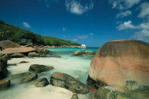 Vacances Mahe: Combiné hôtels 2 ILES : CERF ISLAND RESORT + PARADISE SUN