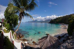 Seychelles-Mahe, Hôtel 2 îles - Britannia Hotel & Anse Soleil beachcomber