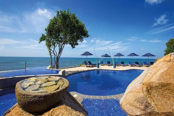 Piscine - Combiné hôtels 2 Iles : Hôtel Coco De Mer & Black Parrot Suites + Cerf Island Resort 4* Mahe Seychelles