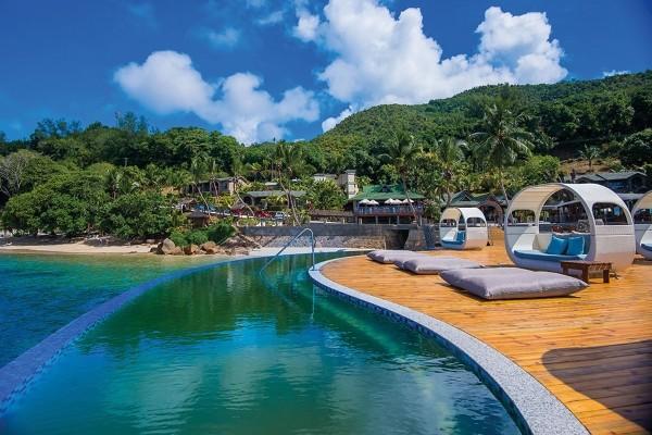 Piscine - Combiné hôtels 2 Iles : Valmer + Coco de Mer & Black Parrot Suites Mahe Seychelles