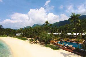 Seychelles-Mahe, Combiné hôtels 2 Iles : Mahé+ Praslin Avani Seychelles Barbaron + l'Archipel