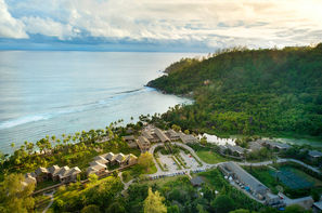 Seychelles-Mahe, Combiné hôtels 2 îles : Mahé et Praslin : Kempinski Seychelles Resort Baie Lazare + L'Archipel