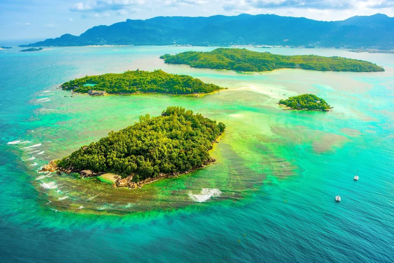 Vue panoramique - Hôtel Combiné 2 îles - Bliss Hotel Praslin & Bliss Hotel Mahé 4* Mahe Seychelles