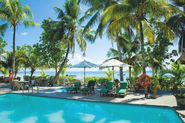 Piscine - 2 Îles : Praslin Indian Ocean Lodge + Mahé Avani Seychelles Barbaron