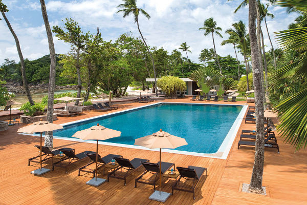 piscine - 3 Iles : Praslin + La Digue + Mahé : Indian Ocean Lodge + La Digue Lodge + Avani Seychelles Barbarons